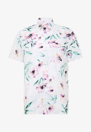 LEON STRIPE - Camicia - white