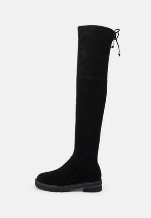 LOWLAND LIFT - Over-the-knee boots - black