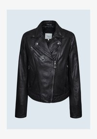 Pepe Jeans - ALBA - Giacca di pelle - black - 4