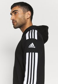 adidas Performance - SQUAD HOOD - Sweatshirt - black - 4