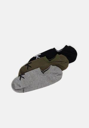 MEN LINER LOGO ALBERT 3 PACK - Socks - olive combo