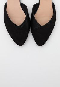 Anna Field - LEATHER  - Slingback ballet pumps - black - 5