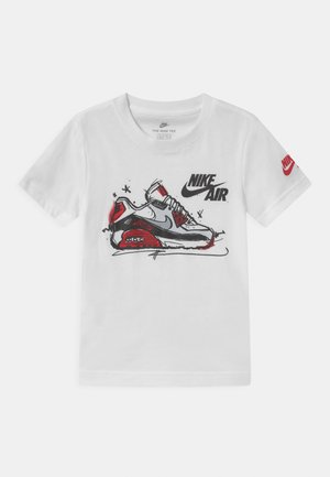 AIR MAX SKETCH  - Triko s potiskem - white