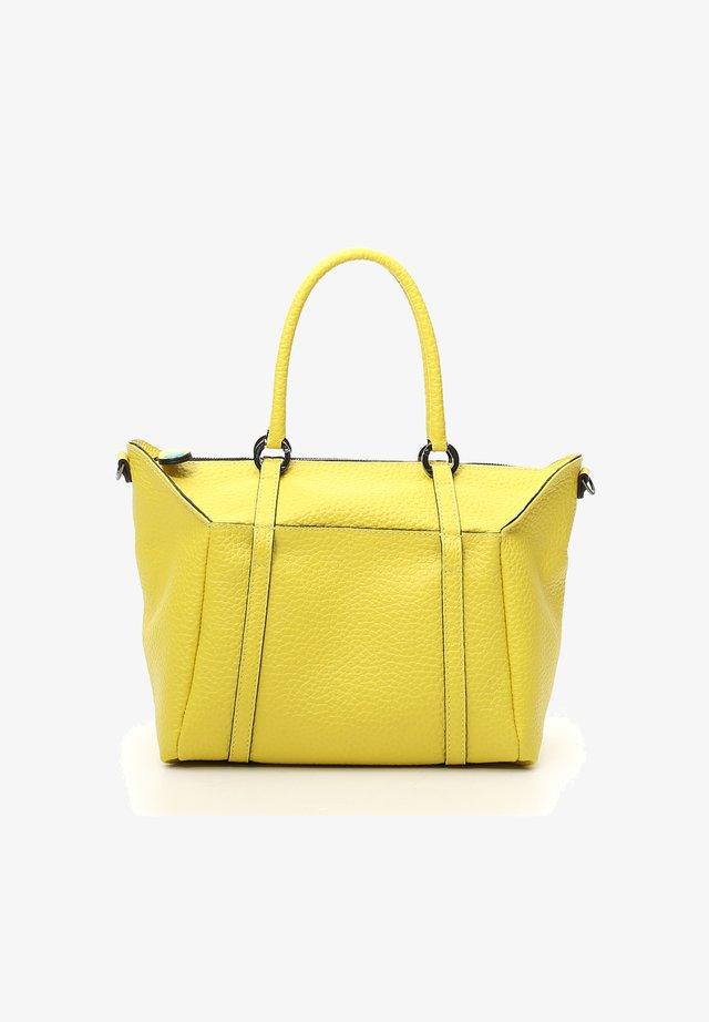 GABS SIRIA SHOPPER TASCHE LEDER 45 CM - Tote bag - lemon