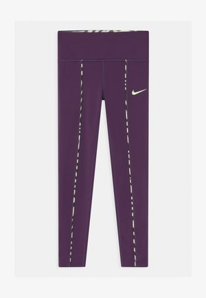 ONE - Leggings - grand purple/vapor green