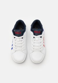 Polo Ralph Lauren - OAKLYNN II - Trainers - white smooth/royal red/white - 3