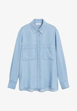 CLASSIC - Koszula - mittelblau