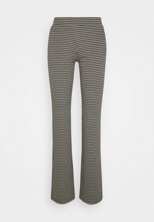 FAWN  - Trousers - houndsthooth check