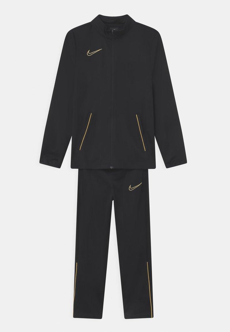 Nike Performance - ACADEMY SET UNISEX - Trainingspak - black/saturn gold