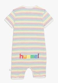 Hummel - RAINBOW BODYSUIT - Tuta - whisper white - 1