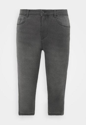 CARAUGUSTA LIFE  - Denim shorts - dark grey denim