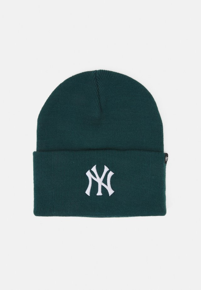 NEW YORK YANKEES HAYMAKER CUFF UNISEX - Čepice - pacific green