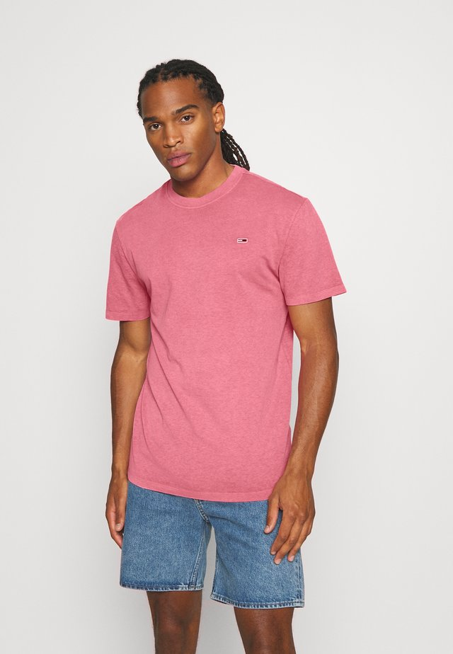 SUNFADED WASH TEE - T-shirt basic - rosey pink