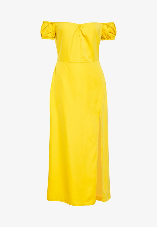 ELZA - Kjole - mustard yellow