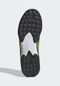 adidas Performance - NEMEZIZ.3 LACELESS TF FUSSBALLSCHUH - Astro turf trainers - black - 4