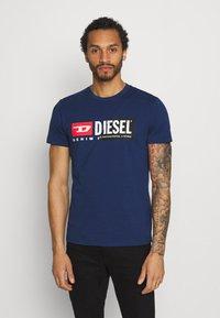 Diesel - DIEGO CUTY - Printtipaita - blue - 0