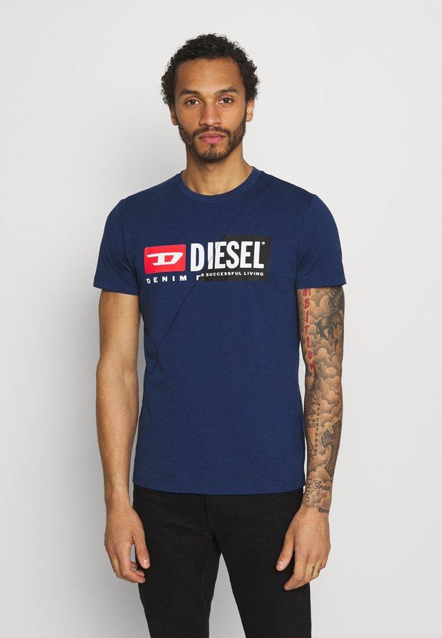 DIEGO CUTY - T-shirt con stampa - blue