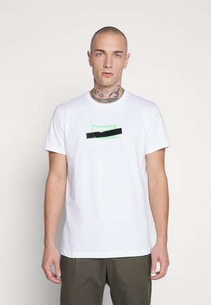 DIEGO - Print T-shirt - white