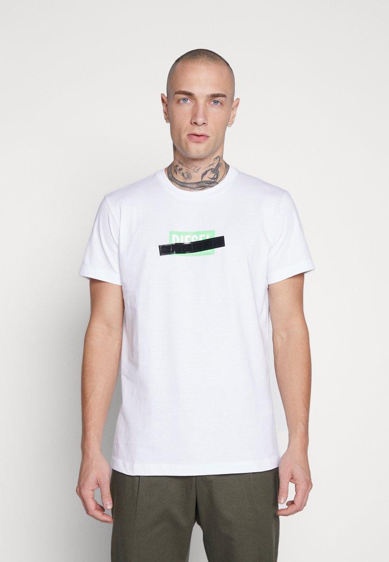 Diesel - DIEGO - T-shirt con stampa - white