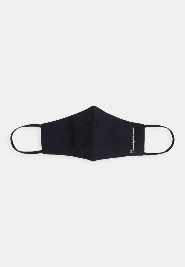 FACE MASK SINGLE UNISEX - Stoffen mondkapje - navy