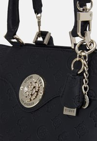 Guess - DAYANE TRIPLE SATCHEL - Handbag - black - 3