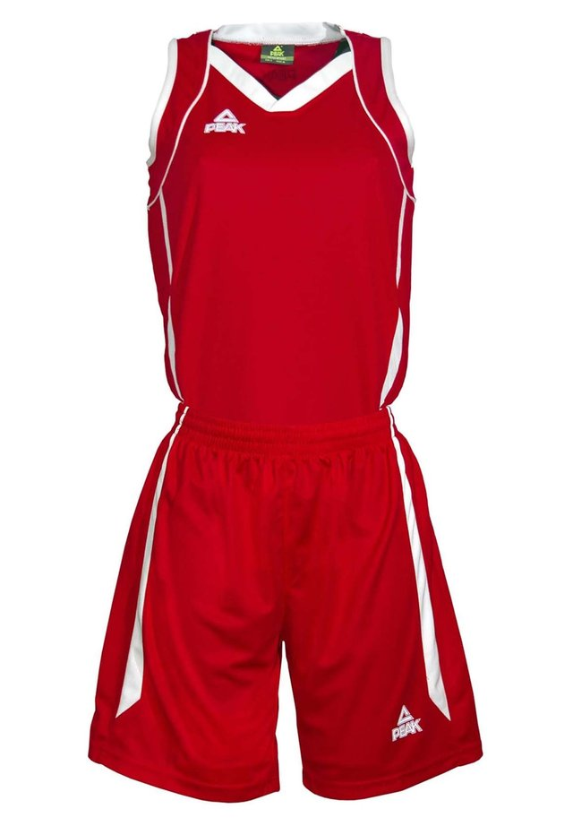 MAILLOT SET - Sports shorts - red