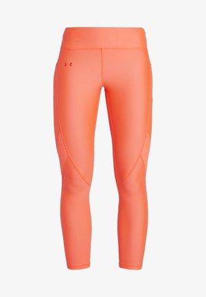 TONAL ANKLE CROP - Collants - neon pink