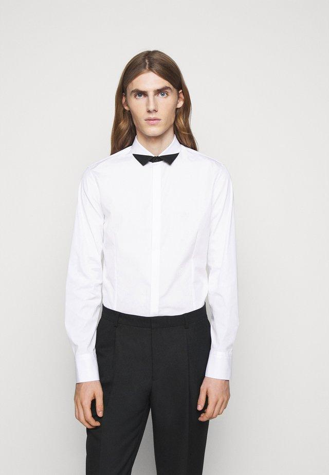 TUXEDO POINT BLOCK - Camicia - white/black