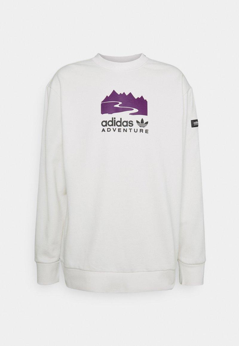 adidas Originals - CREW - Felpa - cloud white
