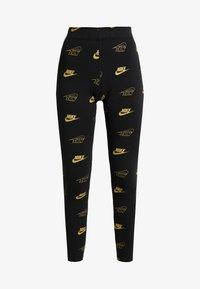 Nike Sportswear - SHINE - Leggings - black - 3