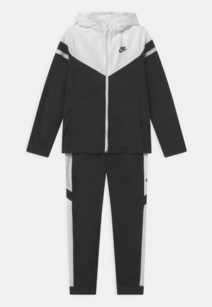 POLY SET UNISEX - Tracksuit - black/white
