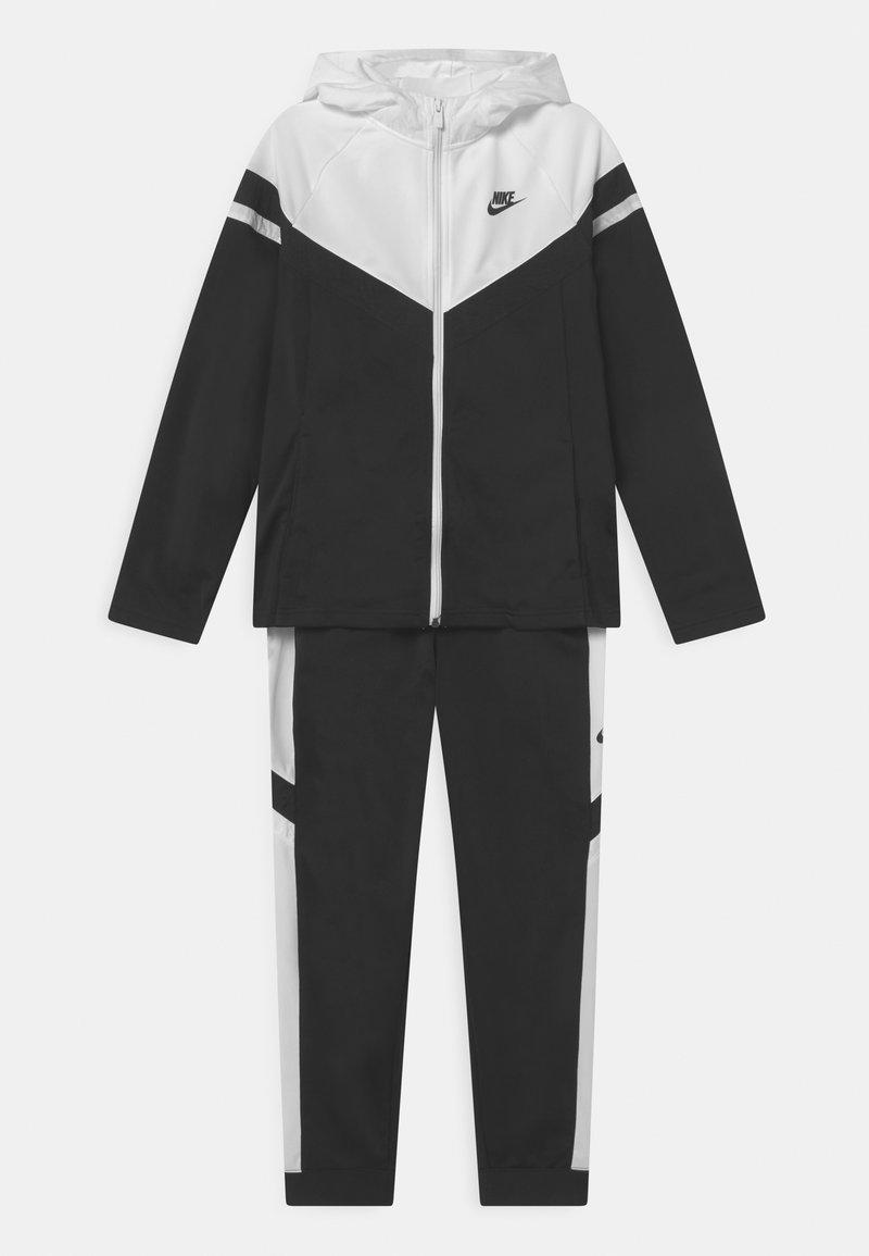 Nike Sportswear - POLY SET UNISEX - Tepláková souprava - black/white