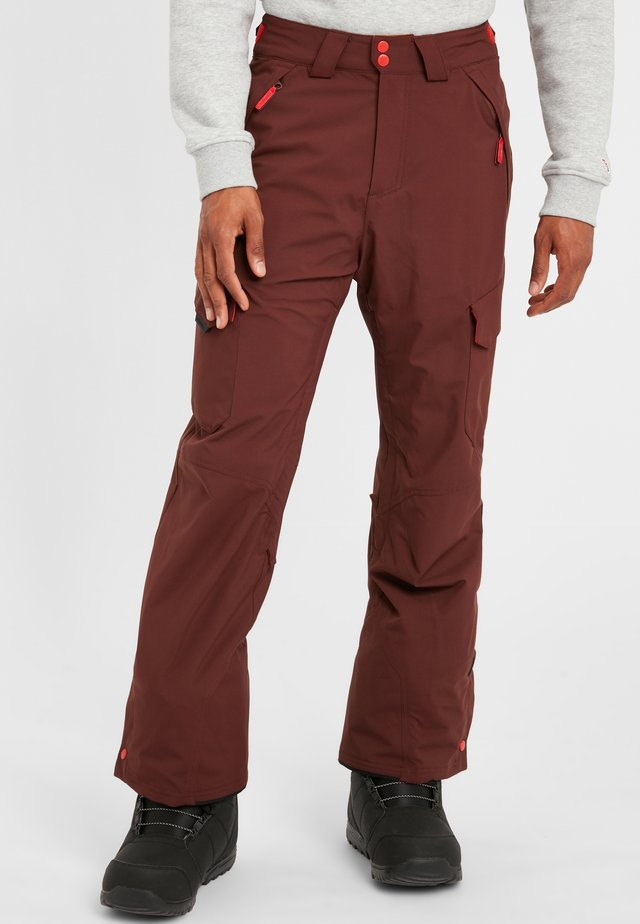 Pantalon de ski - bitter chocolate