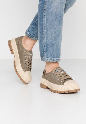 PALLASHOCK - Sneakersy niskie - dusky green