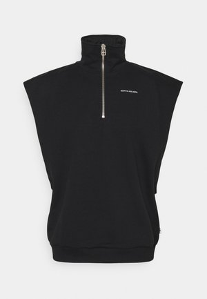 CAMERON TURTLENECK - T-shirt imprimé - black