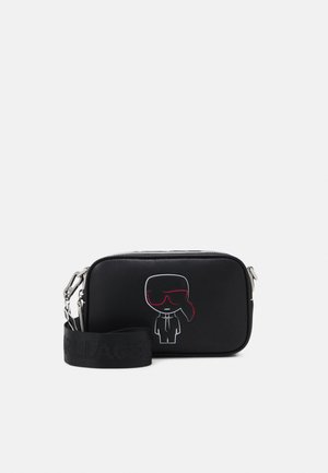 IKONIK OUTLINE CAMERA BAG - Across body bag - black