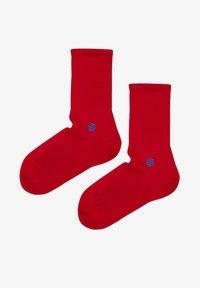 Natural Vibes - SOCKEN 2 PACK AUS BIOBAUMWOLLE - Socks - red - 1