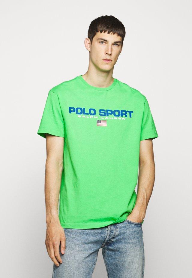 Triko spotiskem - neon green