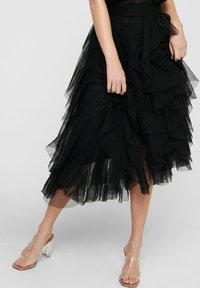 ONLY - A-line skirt - black - 3
