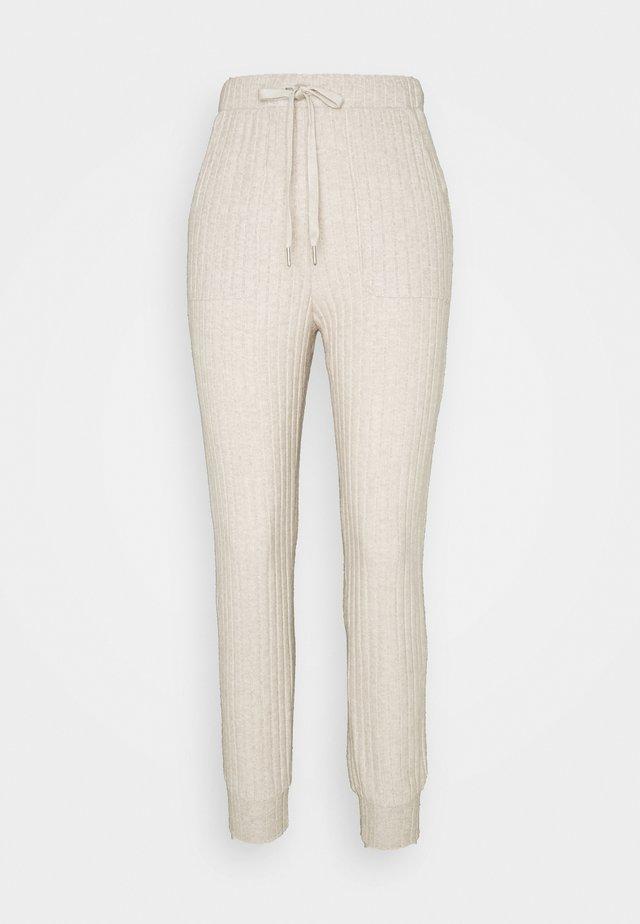 KALUANA PANTS - Trousers - beige melange