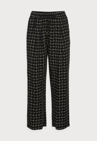 Opus - MAHOLA ABSTRACT - Trousers - soft moss - 3