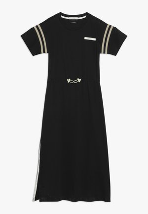 CLUB NOMADE SPORTY T-SHIRT DRESS - Robe en jersey - black