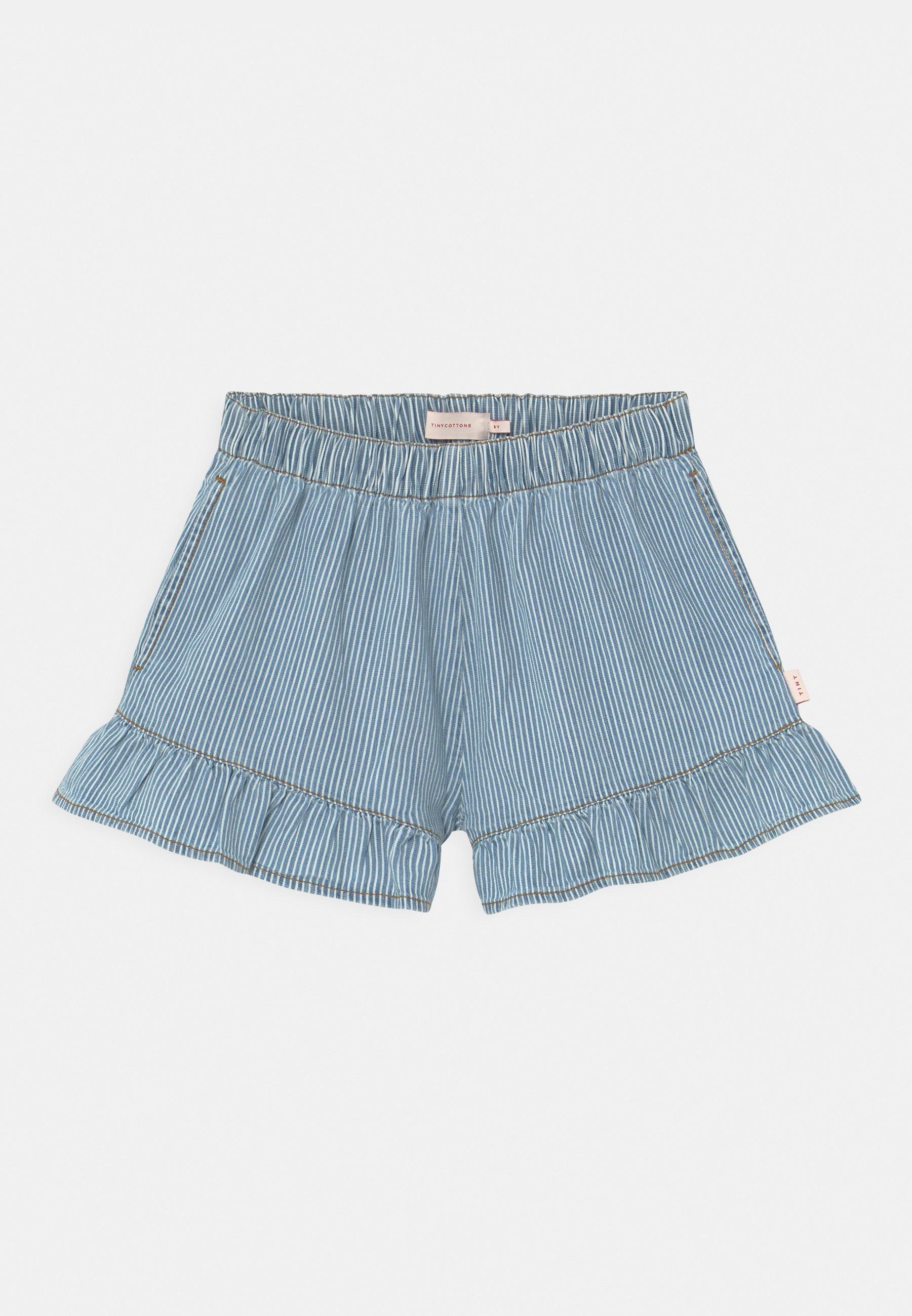 Kids STRIPED  - Denim shorts