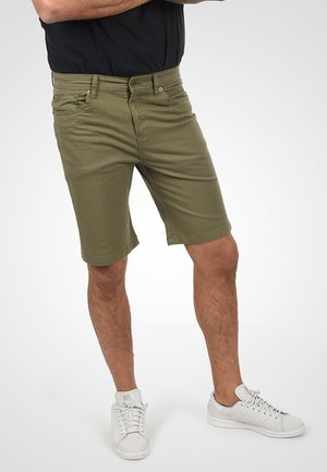 Jeansshort - dusty olive