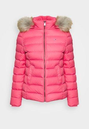 BASIC HOODED JACKET - Light jacket - glamour pink