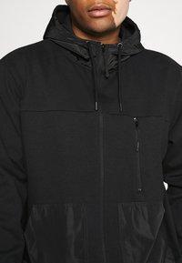 URBN SAINT - USELKON - Zip-up hoodie - black - 6