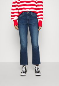 Scotch & Soda - LOOSE FITTED PULLOVER IN SPECIAL BRETON - Svetr - off white/red - 0