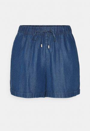 PULL ON - Shorts - blue medium wash