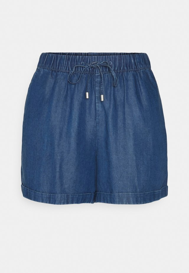 PULL ON - Shorts - blue medium wash