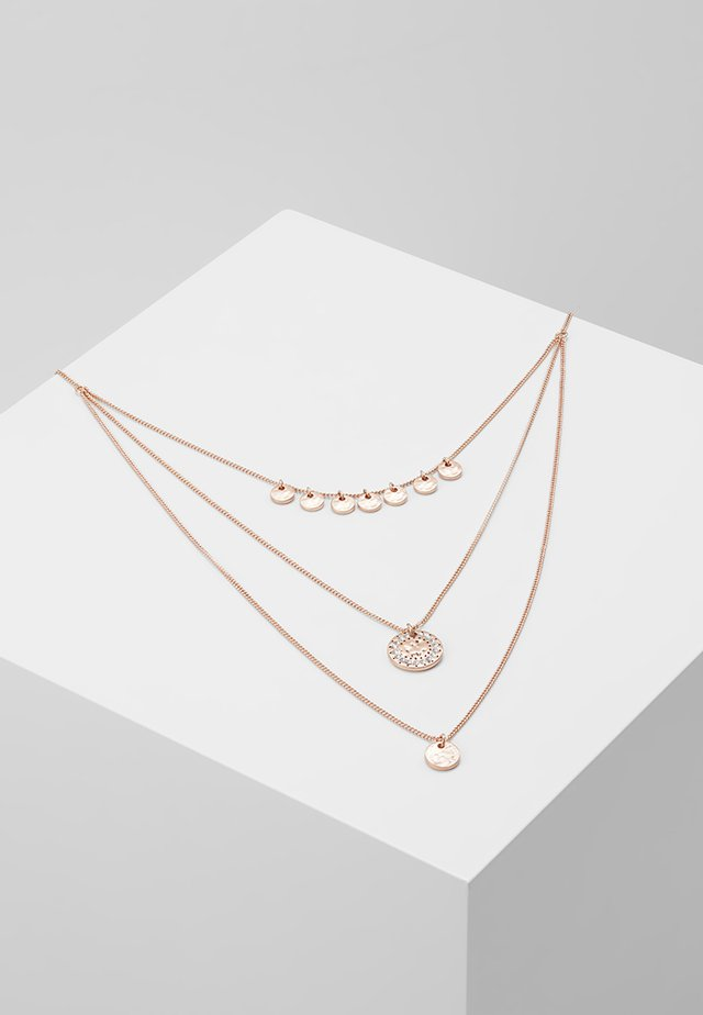 NECKLACE ARDEN - Halskette - rosegold-coloured